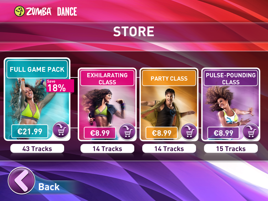 Zumba Dance App