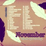 Instagram November Photo Challenges