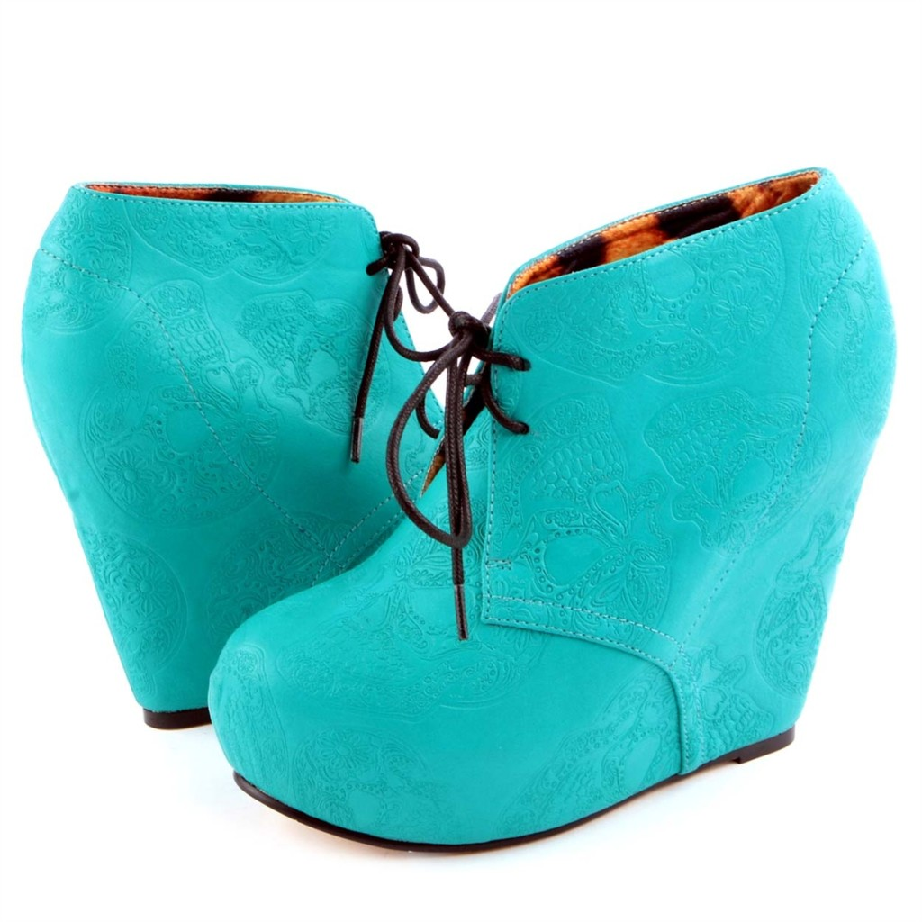 Iron Fist Teal Wedges