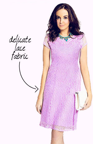 Peacocks lilac dress 1.99