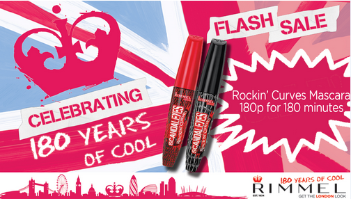 Rimmel mascara flash sale