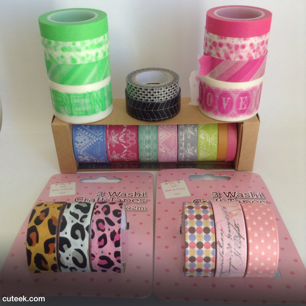 my washi tape collection cuteek. Black Bedroom Furniture Sets. Home Design Ideas