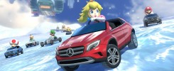 Mario Kart 8 Mercedes Benz DLC