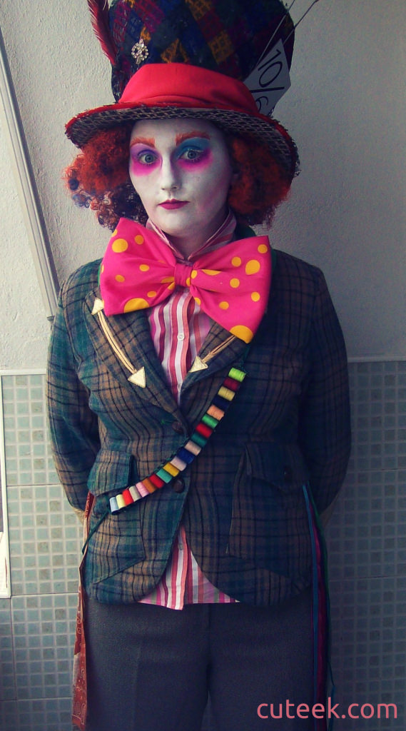 diy mad hatter costume cuteek