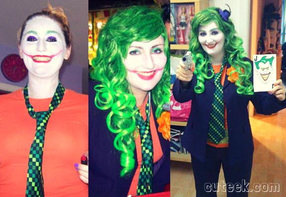 Lady Joker Costume