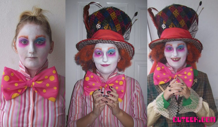 diy mad hatter costume and makeup diy do it your self