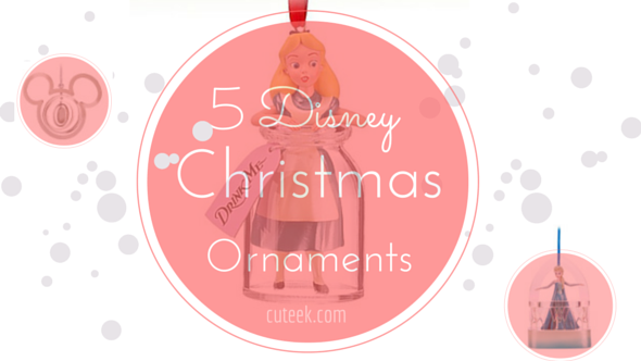 5 Disney Christmas Tree Ornaments