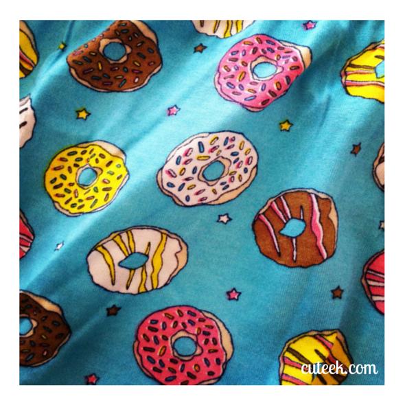 Donut Pattern PJs