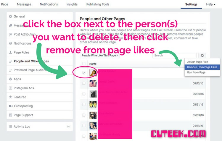 How to Improve Facebook engagement and reach by deleting fans