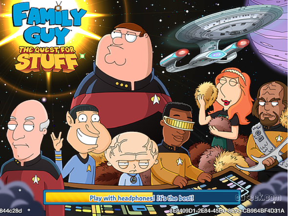 Family Guy The Quest For Stuff Star Trek Event (1)