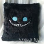 Handmade Cheshire Cat Cushions