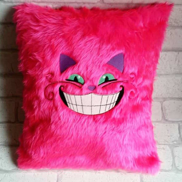 cheshire cat cushion