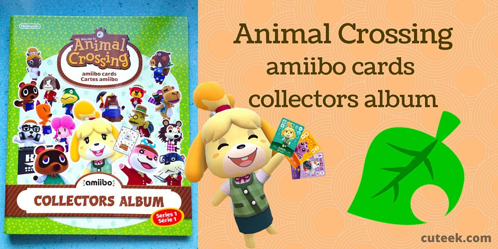 Animal Crossing amiibo Collectors Album