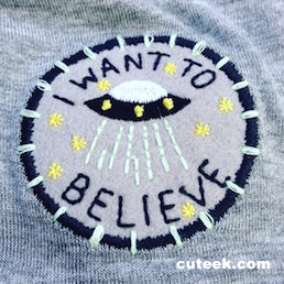 I Want to Believe UFO T-Shirt