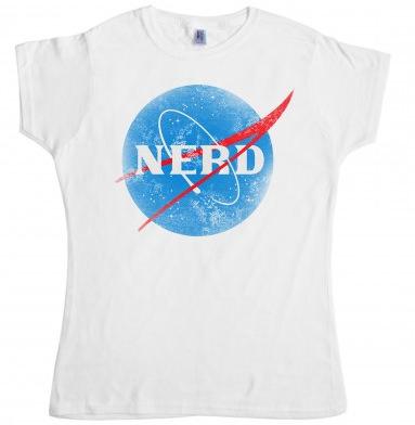 Ladies NASA T-Shirt Nerd