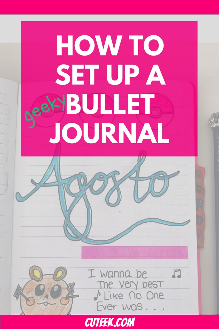How To Setup a Bullet Journal
