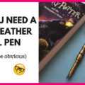 White Feather Quill Pen Creoly