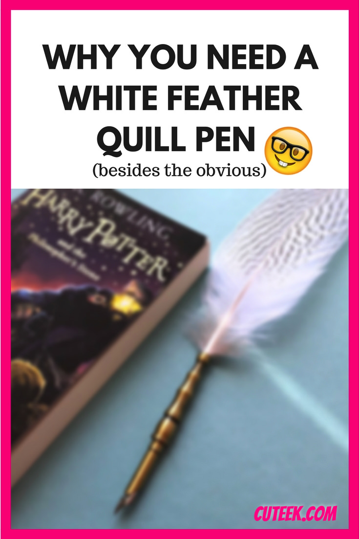 White Feather Quill Pen