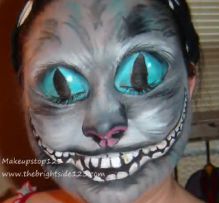 Cheshire Cat Makeup tutorial