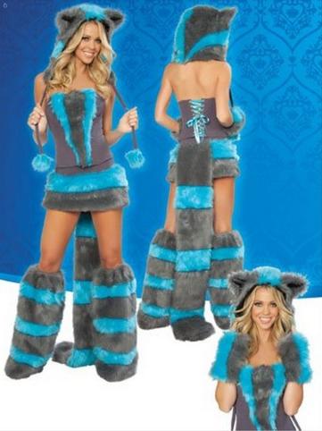 Sexy Cheshire Cat Costume