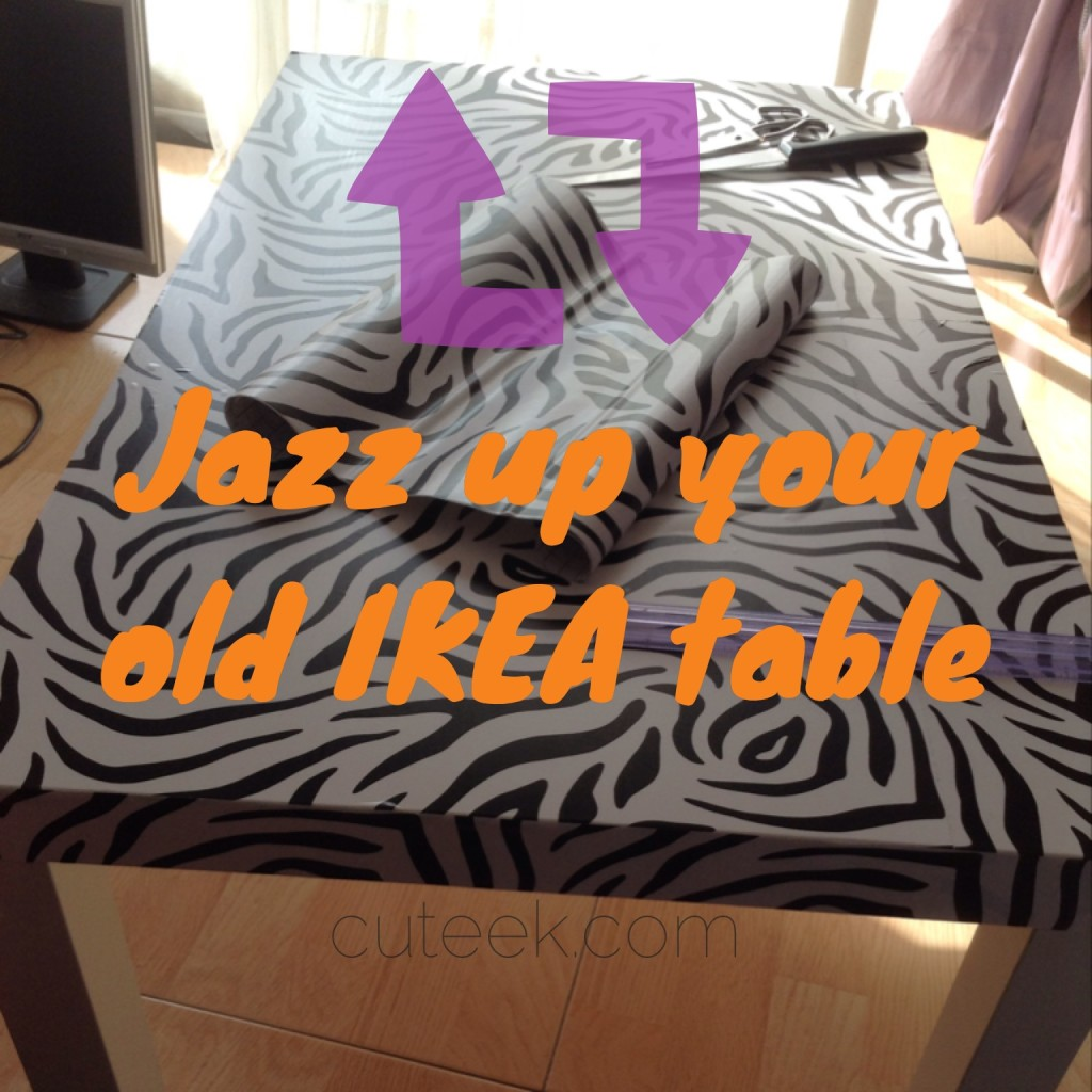 IKEA hack lack table