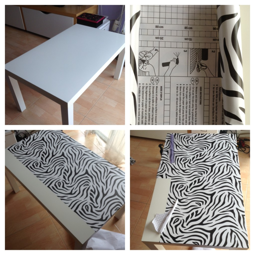 ikea zebra table