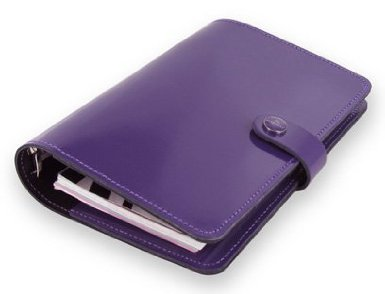purple filofax