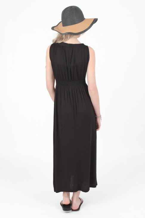 Coil Spring Maxi Dress - OMG Fashion