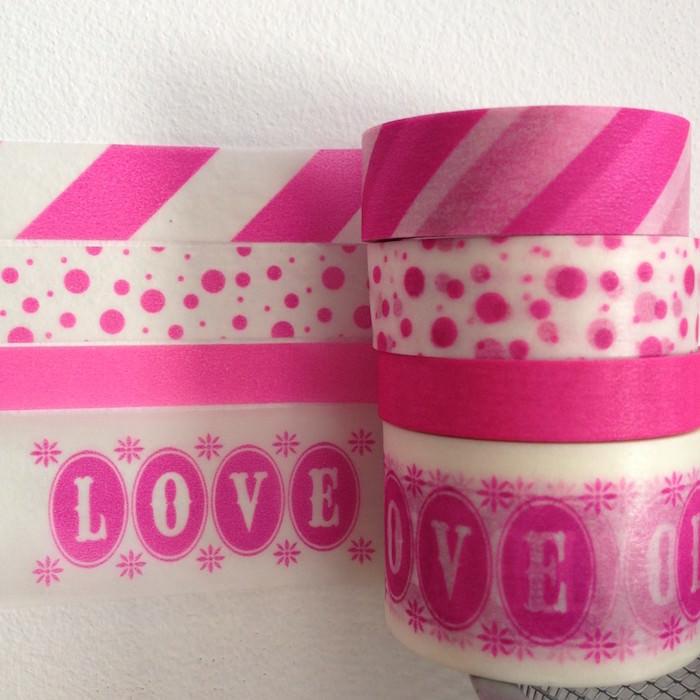 Pink IKEA Washi Tape