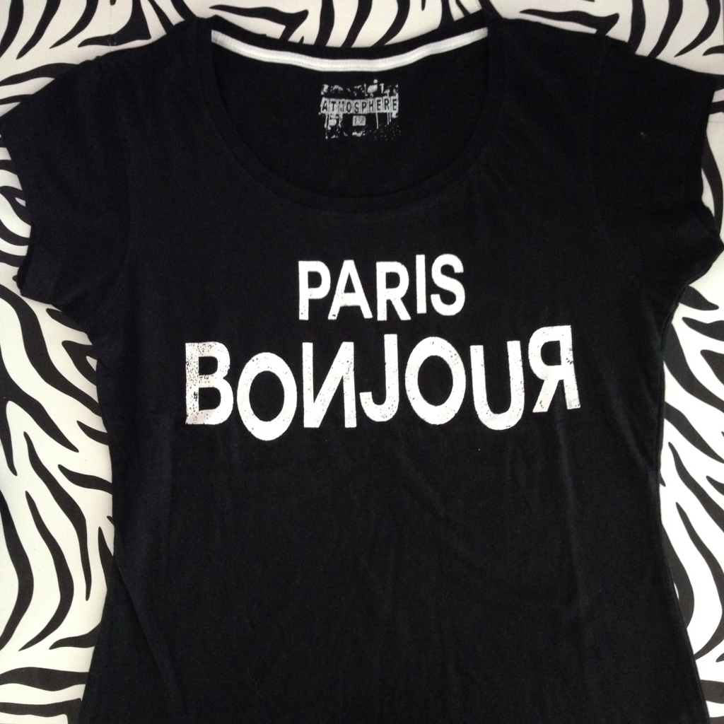 Primark Haul Paris Bonjour T-Shirt