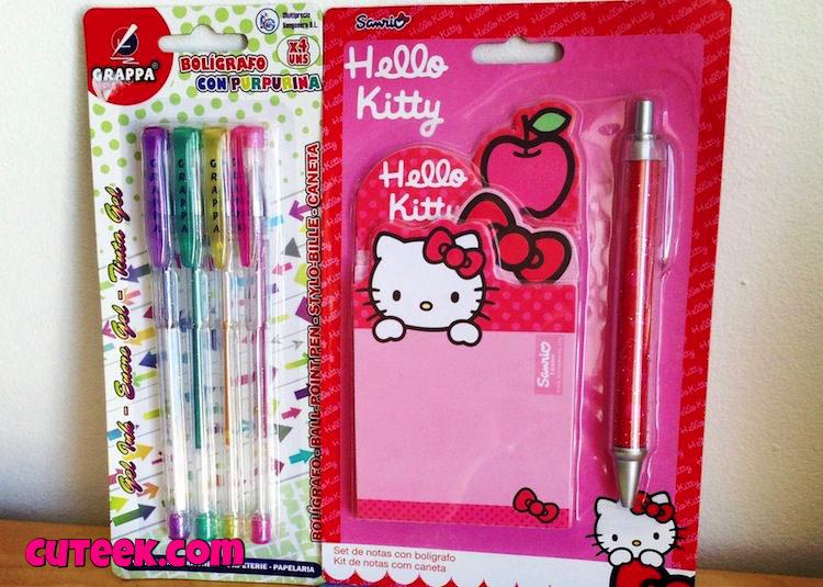Hello Kitty Stationery