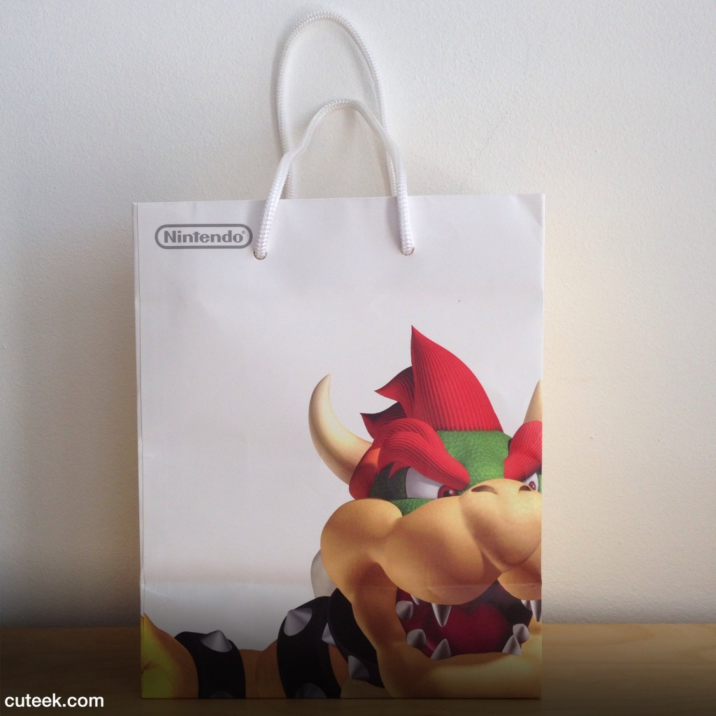 Nintendo World New York Gift Bag