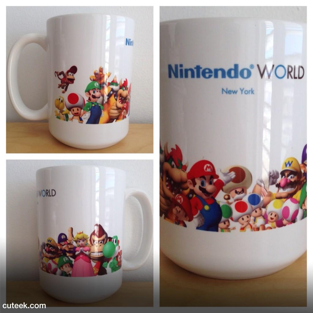 Nintendo World New York Mug