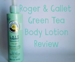 Roger & Gallet Green Tea Body Lotion