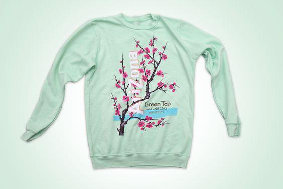 Arizona Green Tea Sweater