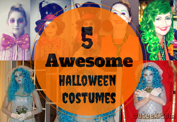 5 Awesome Halloween Costumes