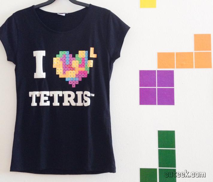 I Love Tetris T-Shirt