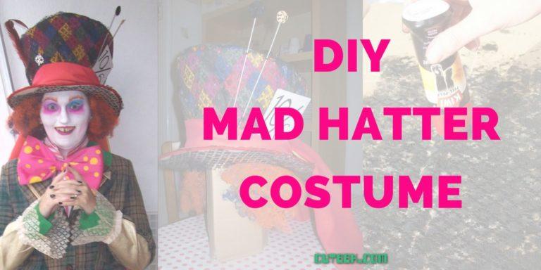 DIY Mad Hatter Costume