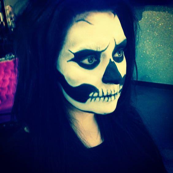 Skeleton Halloween Makeup Ideas
