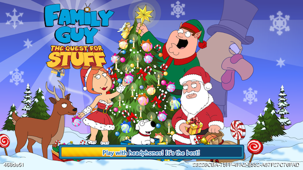 Family Guy The Quest For Stuff: Miracle on Spooner St