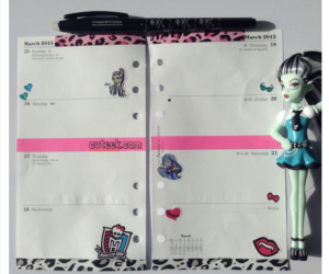 monster high filofax