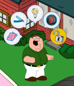 Family Guy The Quest for Stuff Evil Week