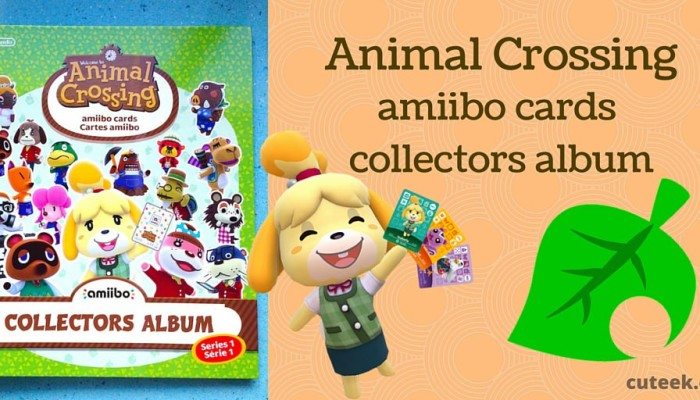 Animal Crossing amiibo card collectors album