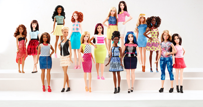 Curvy Barbie and new Styles for 2016