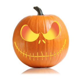 Jack Skellington Pumpkin Stencil
