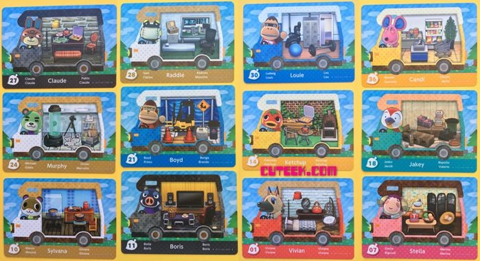 New Animal Crossing amiibo cards