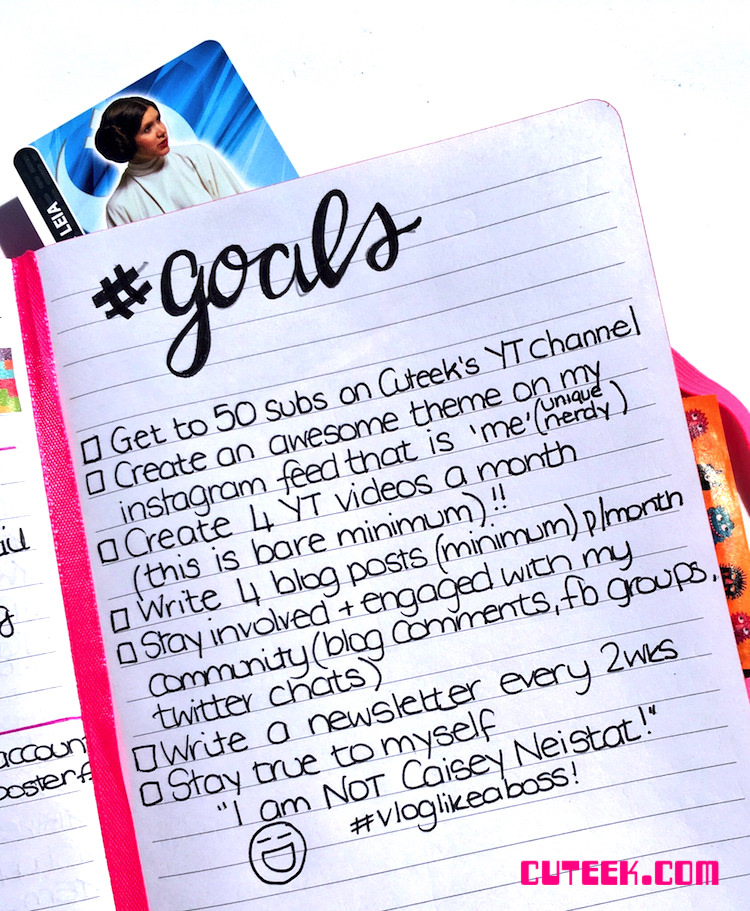 Blog and Brand Goals