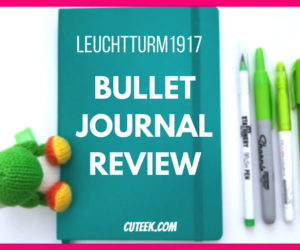 Green Leuchtturm 1917 Bullet Journal Review