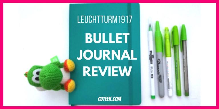 Green Leuchtturm 1917 Bullet Journal Review