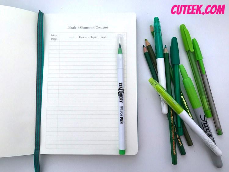 Leuchtturm Bullet Journal Index